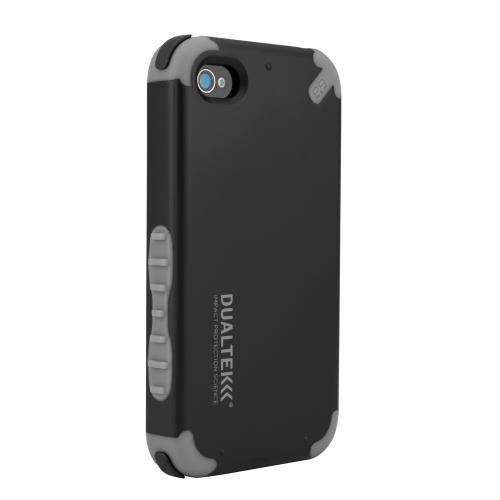 DualTek Extreme Impact Case - Black - iPhone 4