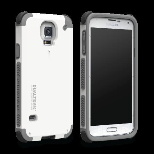 DualTek Galaxy S5 - Arctic White