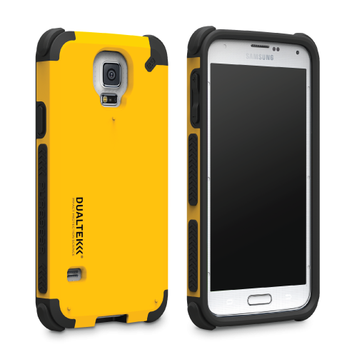 DualTek Galaxy S5 - Kayak Yellow
