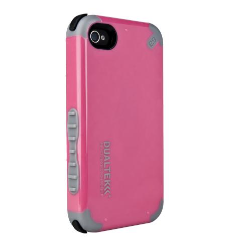 DualTek Extreme Impact Case - Pink - iPhone 4